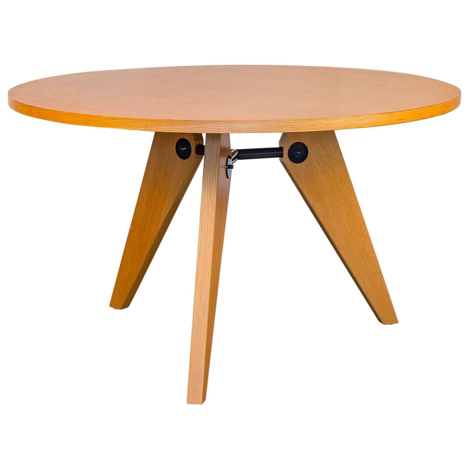 jean prouv gu ridon table for sale at 1stdibs. Black Bedroom Furniture Sets. Home Design Ideas
