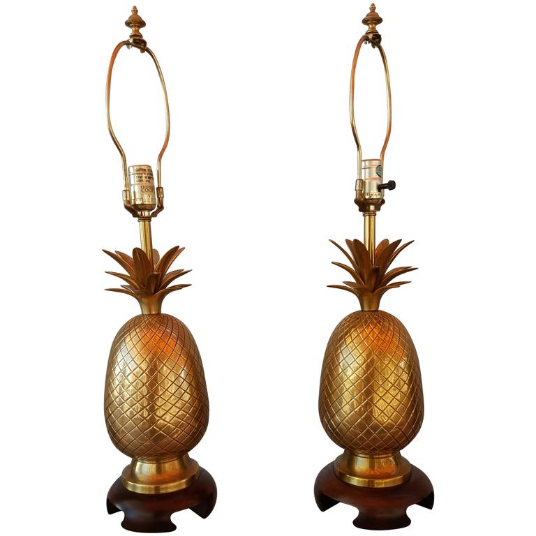 frederick cooper brass pineapple lamps 1 - Pineapple Lamp