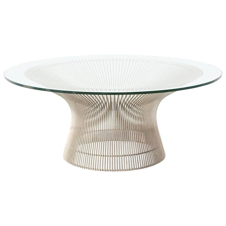 mid century modern warren platner coffee table at 1stdibs