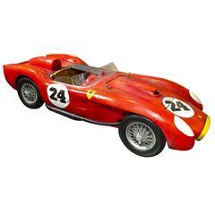 1957 Ferrari Custom Wood Painted Model by Paul Jacobsen