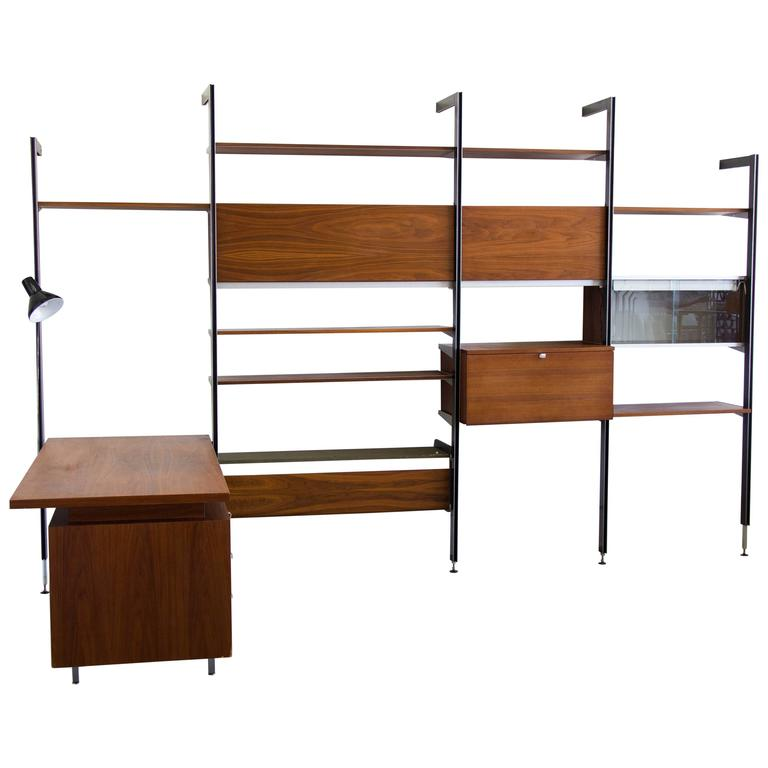 Css Wall Unit By George Nelson For Herman Miller At 1stdibs