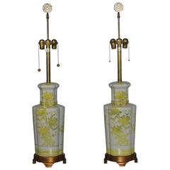 Pair of Lamps by Marbro