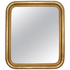 Louis Philippe Mirror with Rounded Corners