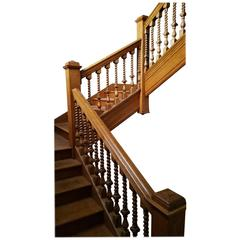 Wood Balustrades and Fixtures