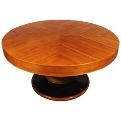Big Art Deco Round Table