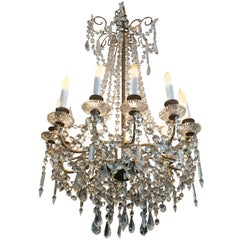 Fabulous Antique French Empire Twelve-Arm Chandelier