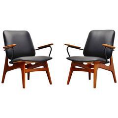 Dutch Modernist Lounge Chair Pair, Holland, 1960