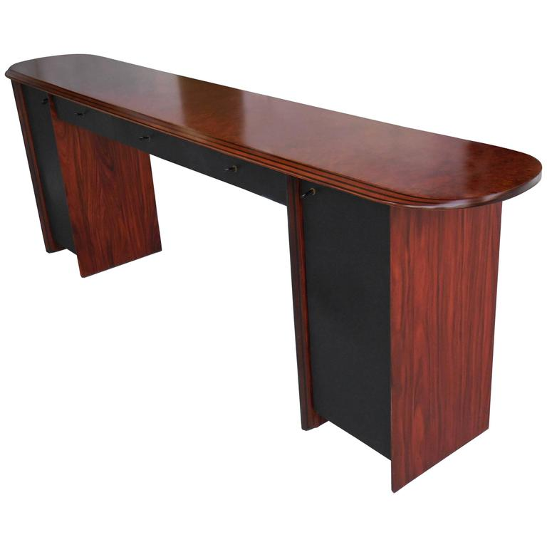 Rosewood Antona Console by Afra and Tobia Scarpa for B & B