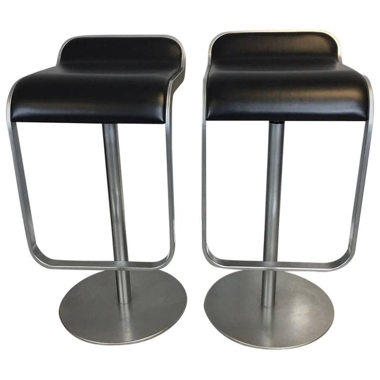 Mid Century Modern Bar Stool Pair By Lem For Sale At 1stdibs