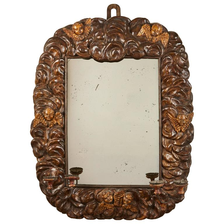 17th Century Italian Cloud Mirror For Sale