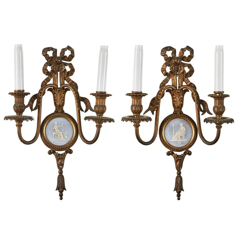 Pair of 19th Century French Sconces 1