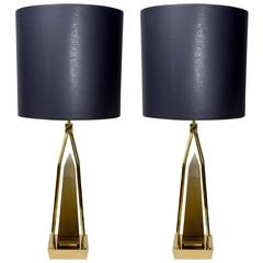 Pair of lamps attributed to Venini