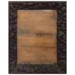 Rustic Frame with Applied Burl
