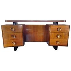 Walnut and Ash Vanity Gilbert Rohde for Herman Miller, 1940