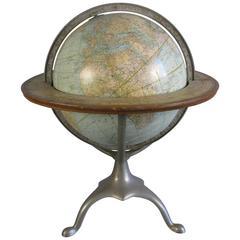 Terrestrial Globe Made in Seneca Falls, NY, circa 1900