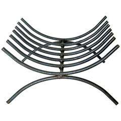 Iron Ribcage Log Holder
