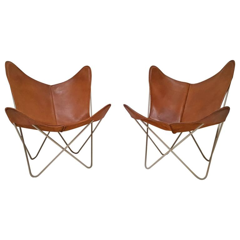Leather Sling Chairs Furniture Dallas