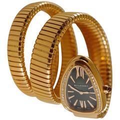 Bulgari Serpenti Tubogas Pink Gold Ladies Wrist Watch