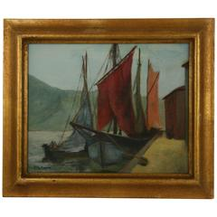 Oil Painting-Sailing by Mc Conny