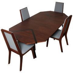 John Kapel for Glenn of California Dining Table and Chair Set, 1960s