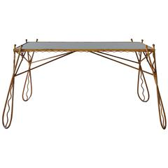 French, 1950s Console Table