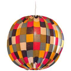 Italian 1970s Patchwork Ceiling Light