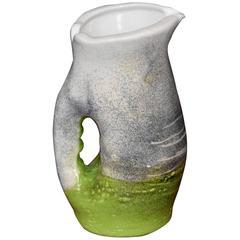 Mado Jolain Ceramic Antropomorphe Pitcher, France, 1950s