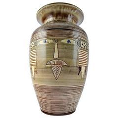 Knapstrup, H. F. Gross, Large Floor Vase