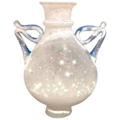1980s Vase by Seguso Vetri d'Arte, Italy, Murano