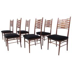 Set of Mid-Century Danish Modern Teak Dining Chairs after Johannes Andersen