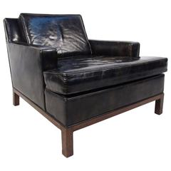 Harvey Probber Leather Club Chair