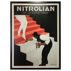 Frame Giclee Print of Nitrolian, 20th Century