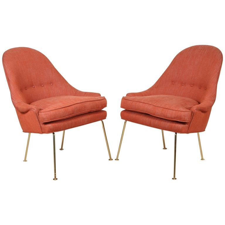Pair of Carthay Lounge Chairs by Lawson-Fenning