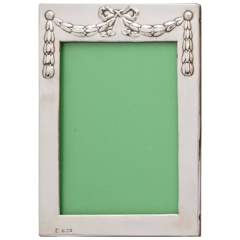 Edwardian Sterling Silver Picture Frame 1