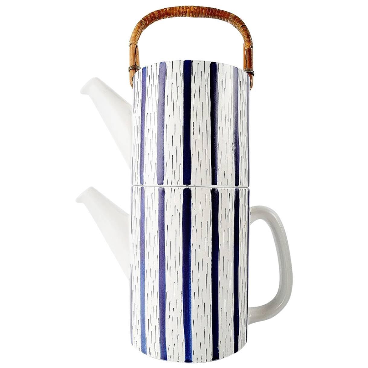 Rare Two-Piece Teapot, Design Stig Lindberg, Gustavsberg