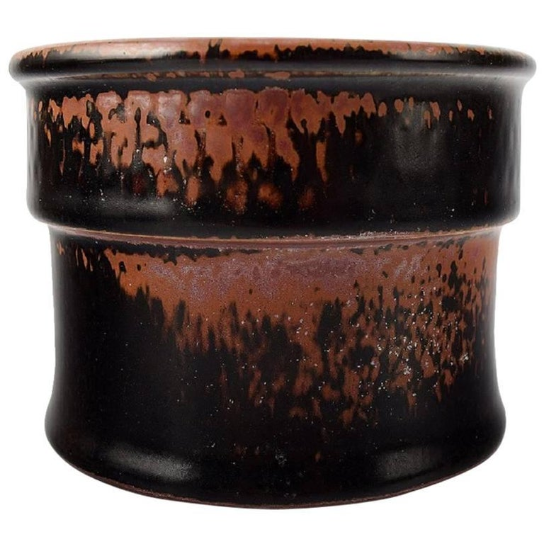 Stig Lindberg, Gustavsberg Studio, Ceramic Vase For Sale