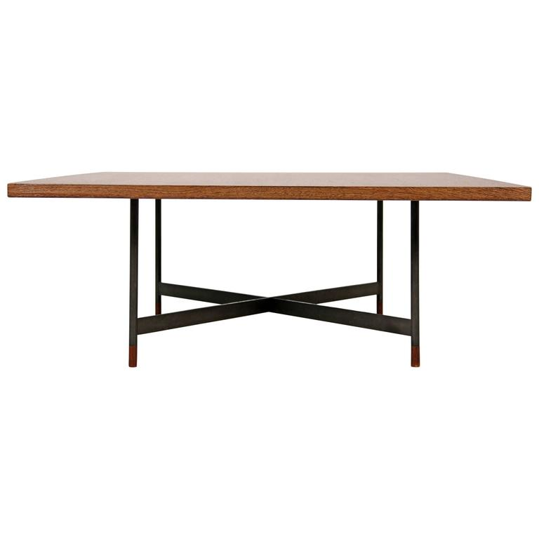 Rare finn juhl coffee table fj 57 with wenge top for sale at 1stdibs Wenge coffee tables