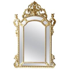 French Gold Mirror Napoleon III
