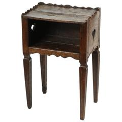 French Provincial Oak Table d'nuit, 19th Century