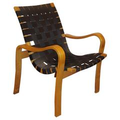 Bruno Mathsson Style Bentwood Recliner