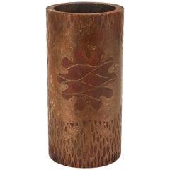 Print Roller as a Vase