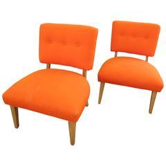 1950s American Slipper Chairs
