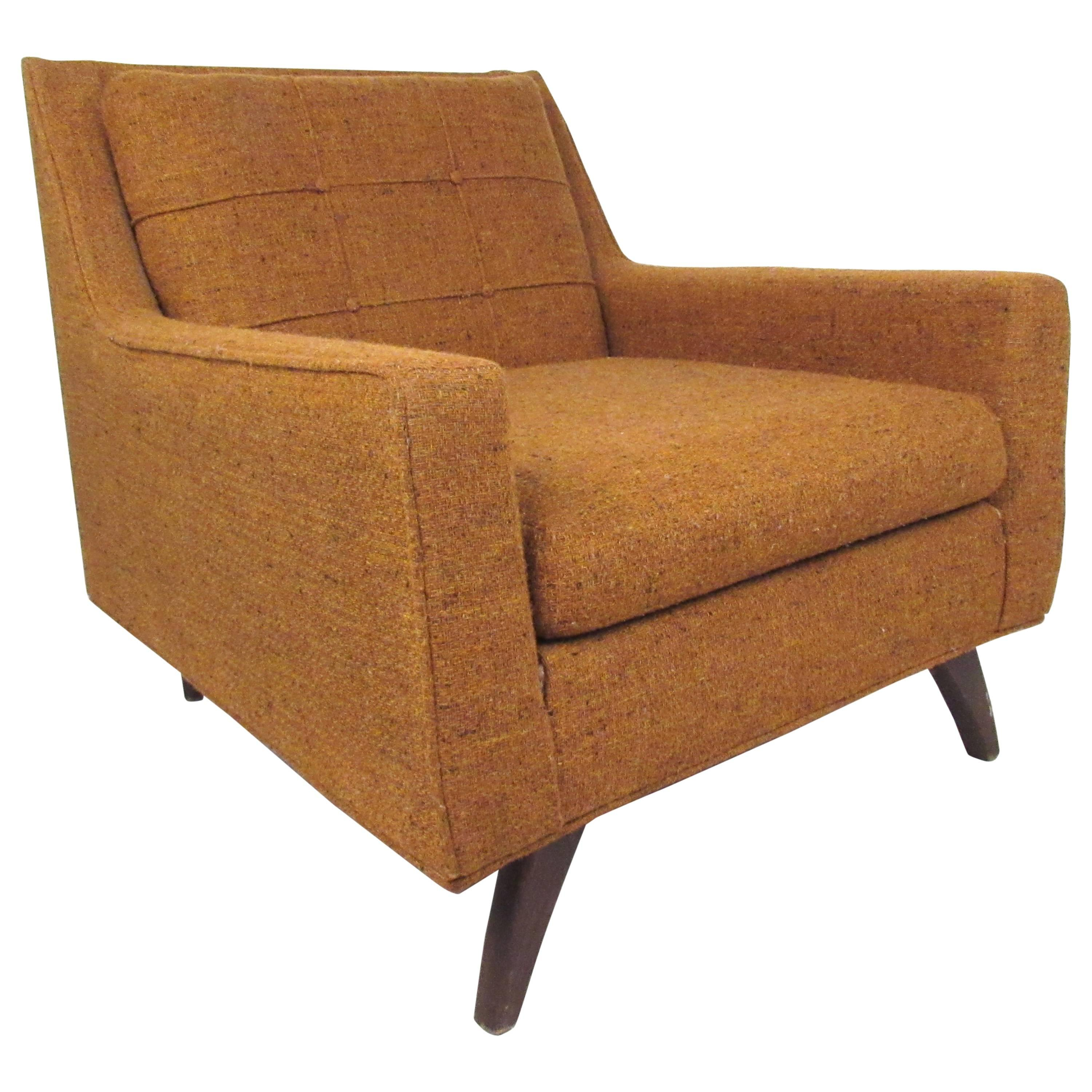 Mid-Century Prestige Lounge Chair after Adrian Pearsall