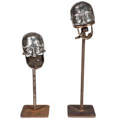 Pair of Early Dental Articulators, circa 1900-1910