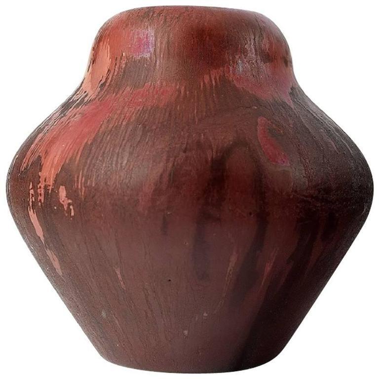 Large and Impressive Danish Private Collection, Vase, Soren Kongstrand