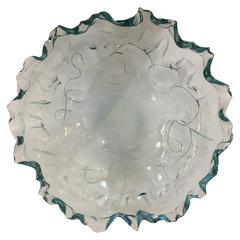 Beautiful Contemporary Art Glass Bowl