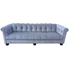 Chesterfield Custom Sofa  Sally Sirkin Lewis