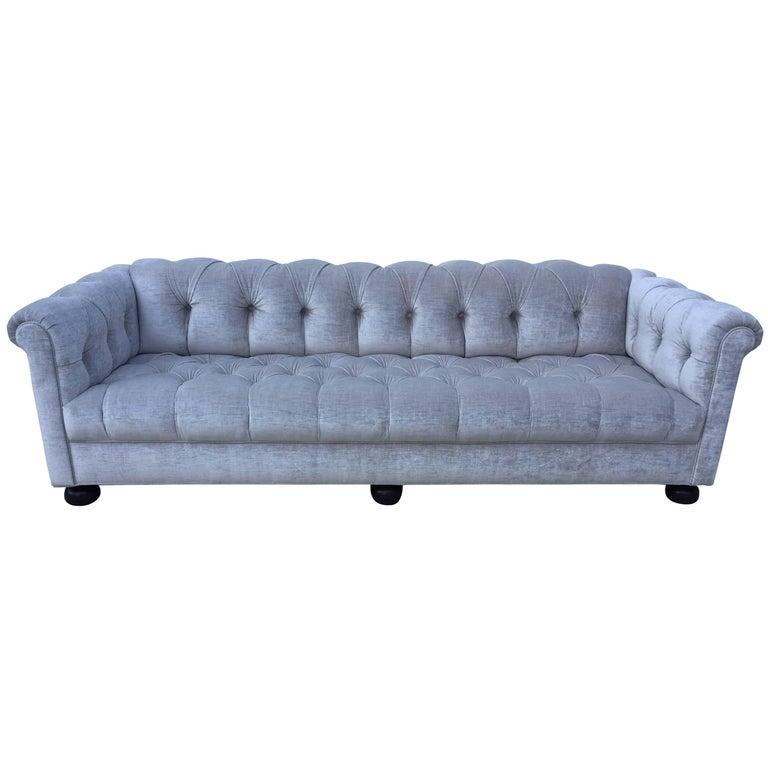 Chesterfield Custom Sofa  Sally Sirkin Lewis