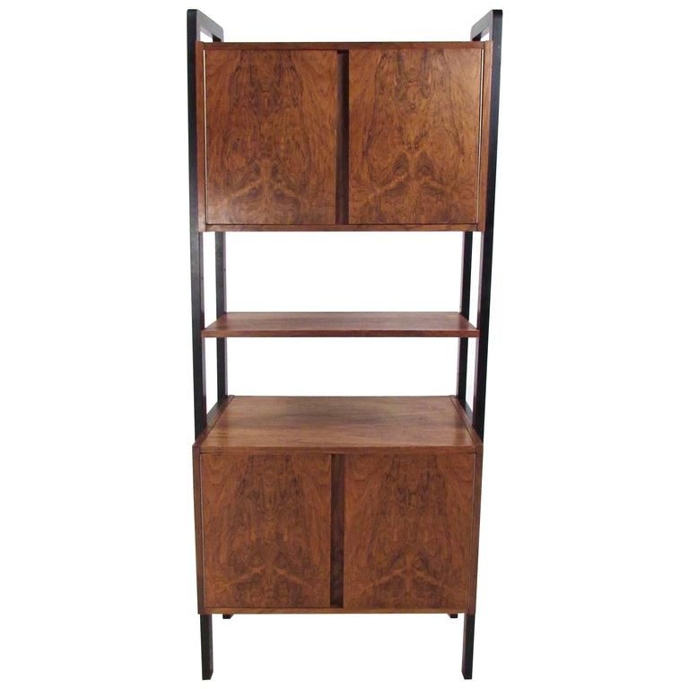 mid century cabinet mid century modern rosewood freestanding wall 23319