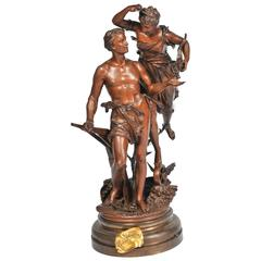 Rancoulet Bronze Entitled ' La Recompense'